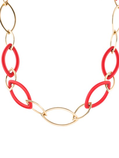 Vhernier Vhernier Pop Chain 18K Yellow Gold and reconstructed coral Image 4