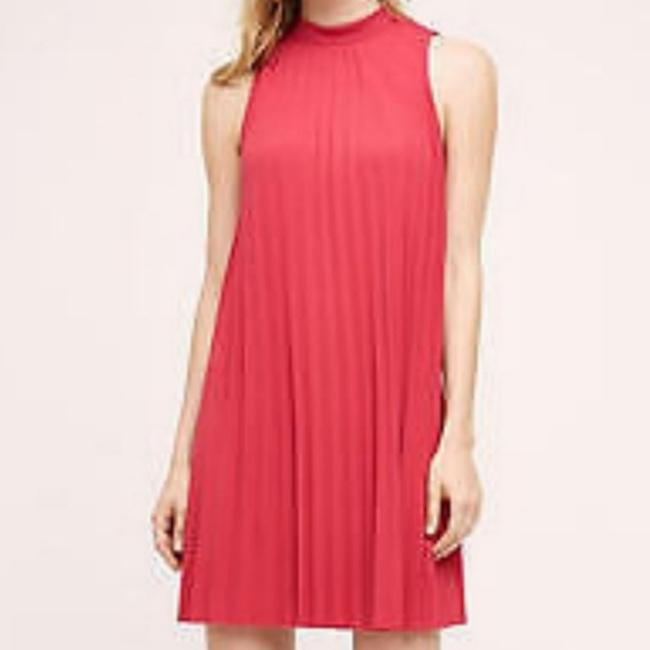 Preload https://item2.tradesy.com/images/plenty-by-tracy-reese-pink-pleated-swing-nwot-short-cocktail-dress-size-6-s-25658006-0-1.jpg?width=400&height=650
