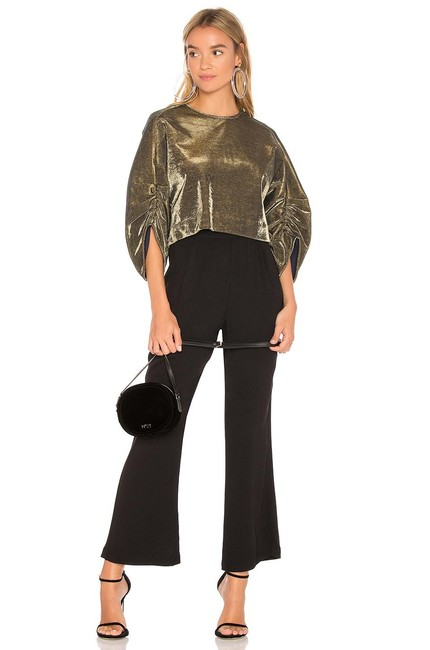 Preload https://img-static.tradesy.com/item/25658031/tibi-sculpted-shirred-sleeve-evening-party-cropped-gold-sweater-0-0-650-650.jpg