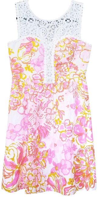 Preload https://img-static.tradesy.com/item/25658069/lilly-pulitzer-pink-and-orange-happiness-is-raegan-short-casual-dress-size-0-xs-0-1-650-650.jpg