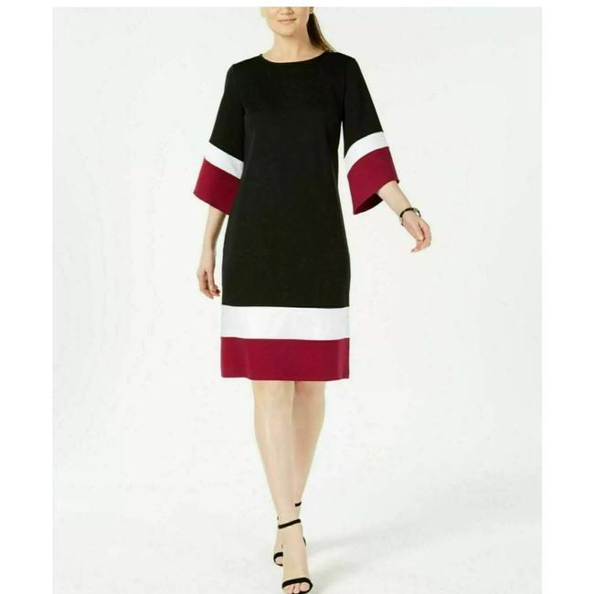 Preload https://img-static.tradesy.com/item/25658098/ny-collection-colorblocked-shift-short-workoffice-dress-size-petite-4-s-0-0-650-650.jpg