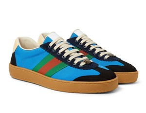 Gucci Sneakers Web Logo Sneakers blue Athletic