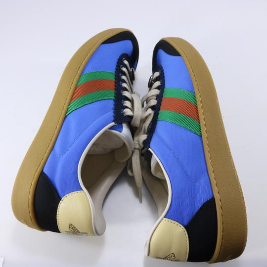 Gucci Sneakers Web Logo Sneakers blue Athletic Image 11
