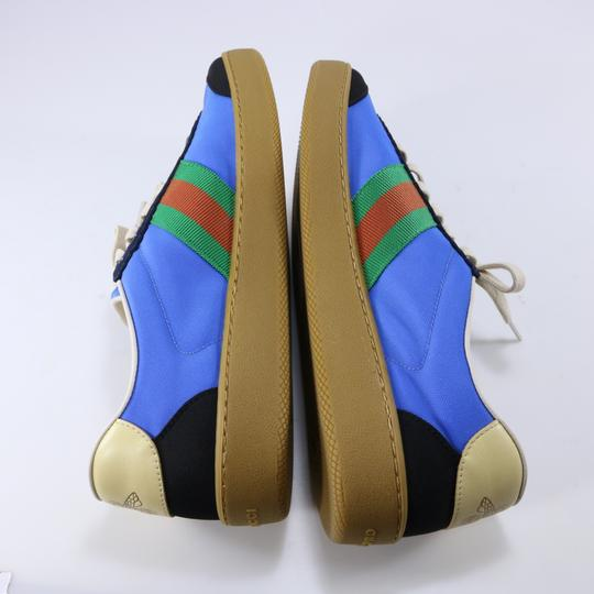 Gucci Sneakers Web Logo Sneakers blue Athletic Image 3
