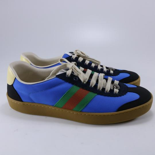 Gucci Sneakers Web Logo Sneakers blue Athletic Image 4