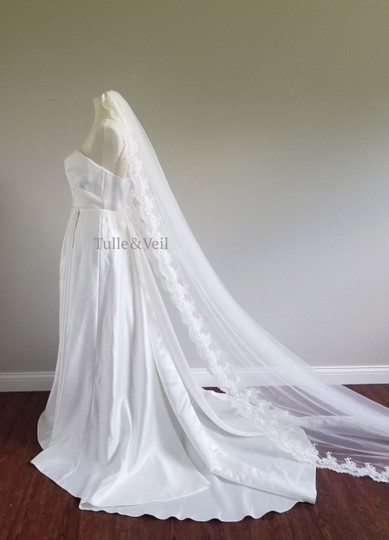 Preload https://img-static.tradesy.com/item/25658163/ivory-long-cathedral-lace-abby-bridal-veil-0-0-540-540.jpg