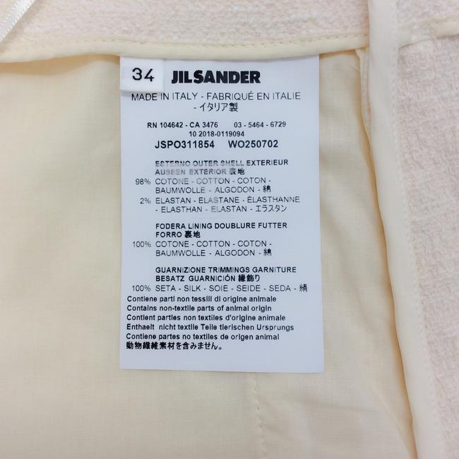 Jil Sander Dress Shorts Natural Image 7