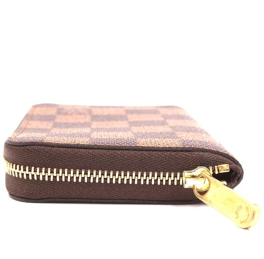 Louis Vuitton Damier ebene Square Zip around card holder case wallet Image 7