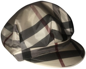 Burberry London NEW Burberry Newsboy Hat Trench Check