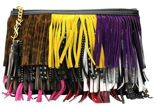 Preload https://img-static.tradesy.com/item/25658257/saint-laurent-ysl-pouch-new-jolie-fringes-403418-cwu21-multicolored-leather-clutch-0-0-540-540.jpg