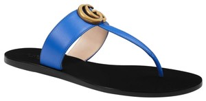 Gucci Marmont Thongs Marmont blue Sandals
