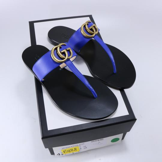 Gucci Marmont Thongs Marmont blue Sandals Image 1