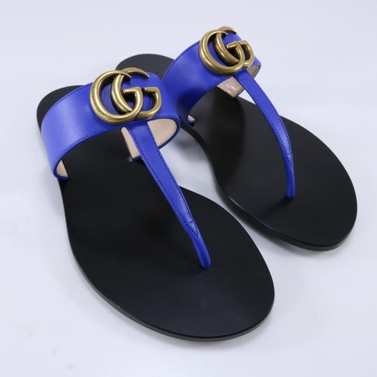 Gucci Marmont Thongs Marmont blue Sandals Image 2