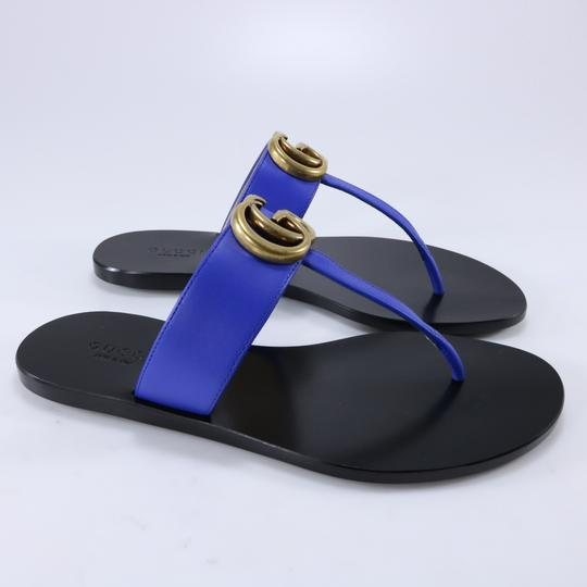 Gucci Marmont Thongs Marmont blue Sandals Image 3