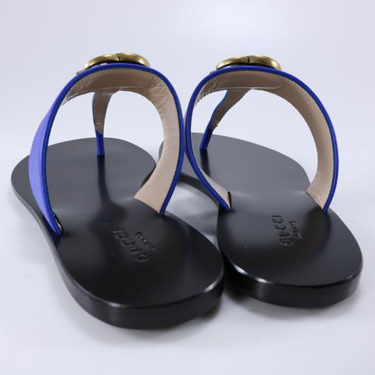 Gucci Marmont Thongs Marmont blue Sandals Image 5