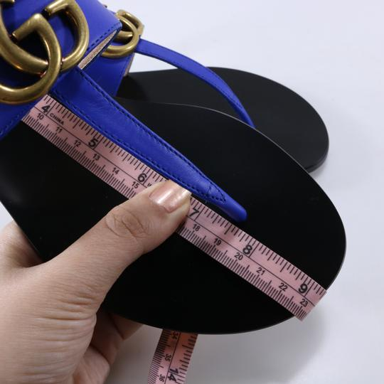 Gucci Marmont Thongs Marmont blue Sandals Image 7