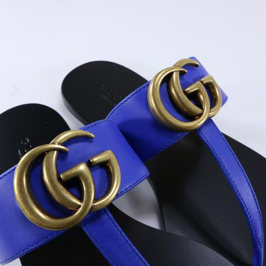 Gucci Marmont Thongs Marmont blue Sandals Image 9