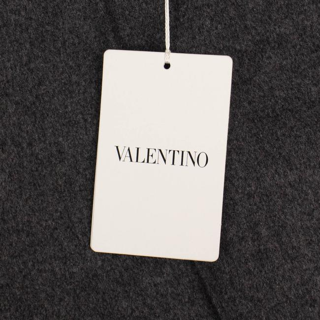 Valentino Wool Piped Detail Wide Classic Dress Shorts Gray Image 5