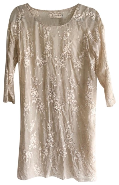 Preload https://img-static.tradesy.com/item/25658469/johnny-was-sheer-silk-embroidered-tunic-short-night-out-dress-size-4-s-0-1-650-650.jpg