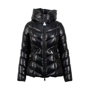 7ccb3025d Moncler Black W Khloe Quilted Puffer W/Fur Hood Coat Size 0 (XS ...