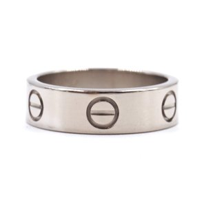 Cartier 18K gold Love band ring size 52 3.5mm wide Size 5.75