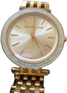 Michael Kors Michael Kors Rose Gold with Crystal Surround