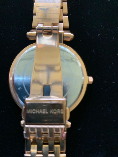 Michael Kors Michael Kors Rose Gold with Crystal Surround Image 3