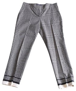 Lanvin Trouser Pants blk/cream