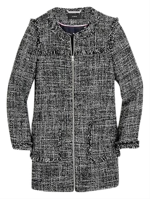 Preload https://img-static.tradesy.com/item/25658737/jcrew-black-grey-nwot-tweed-coat-size-4-s-0-1-650-650.jpg