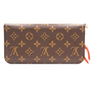 Louis Vuitton Large Grenade long Wallet Zip around zipper organizer