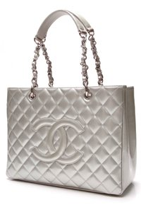 Chanel Tote in Silver