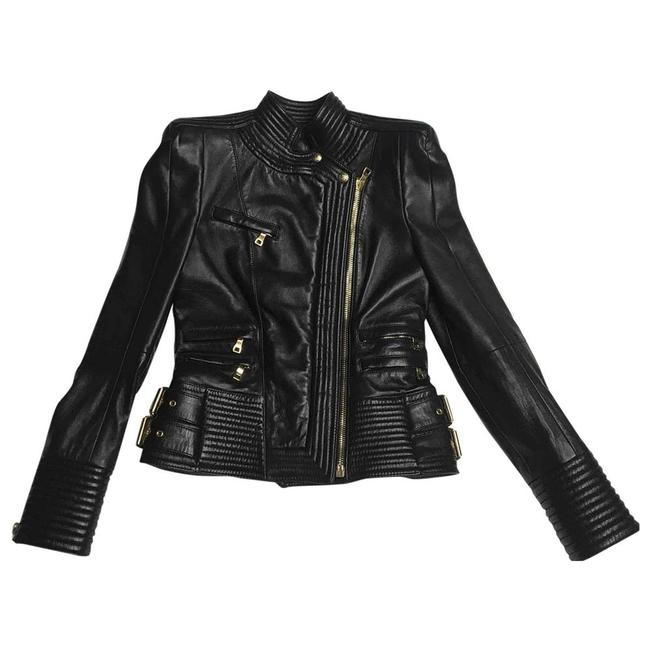 Black Moto Jacket by Balmain