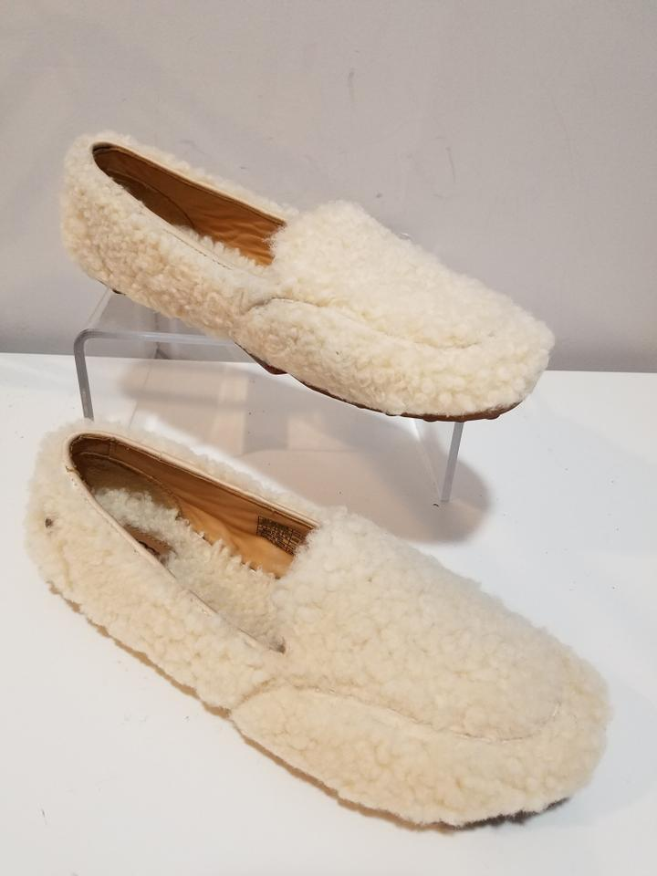 d1f232f9613 UGG Australia Natural Hailey Fluff Loafers Slippers Flats Size US 9 Regular  (M, B)
