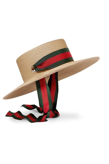 Preload https://img-static.tradesy.com/item/25659838/gucci-ivory-green-and-red-ribbon-web-papier-wide-brim-size-x-small-hat-0-0-540-540.jpg