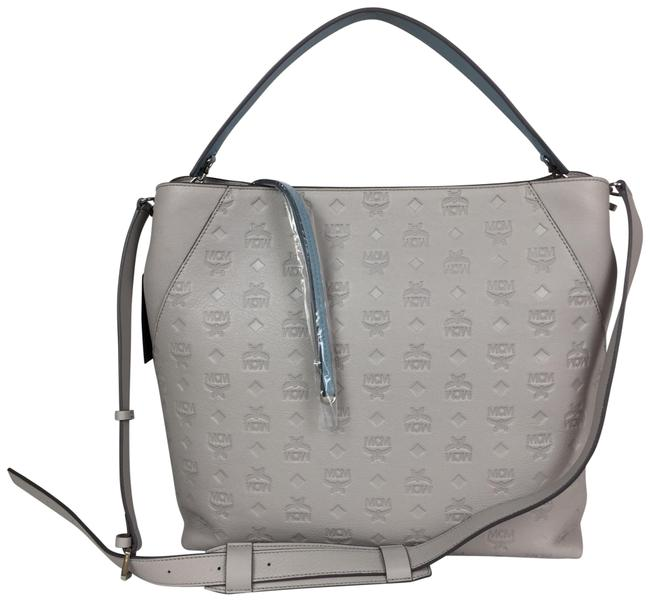 Item - Klara Large Leather Gray Hobo Bag