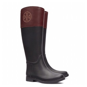 Tory Burch Black/Almond Boots
