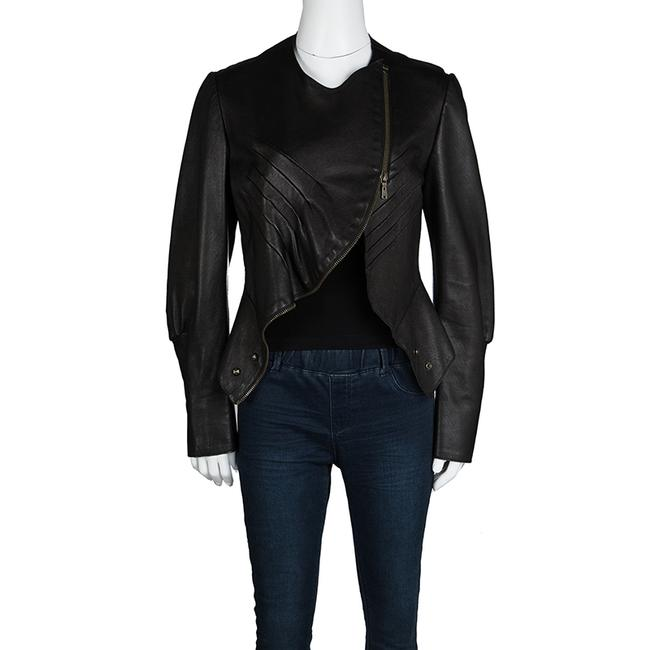 Saint Laurent Leather Jacket Image 1