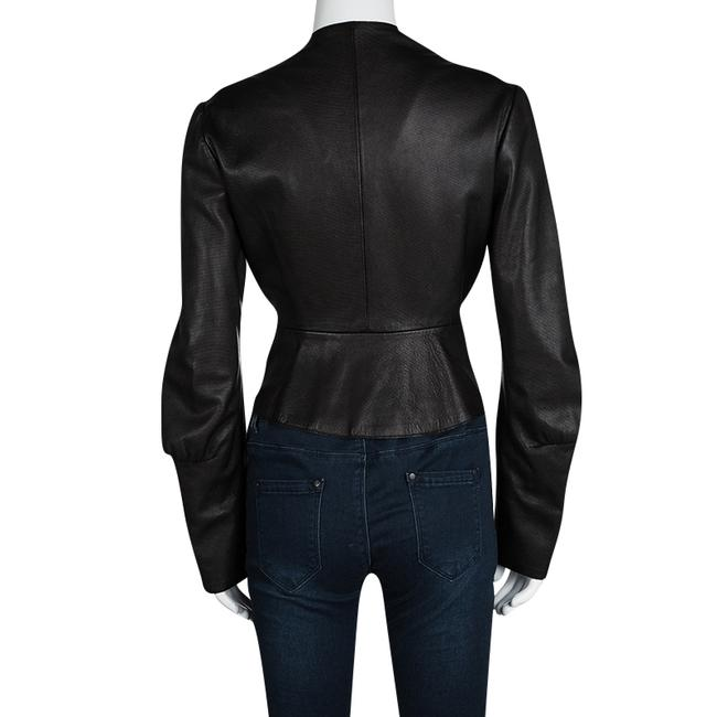 Saint Laurent Leather Jacket Image 2