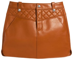 Coach Mini Skirt brown