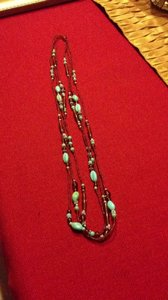 Unknown Three Strand Necklace