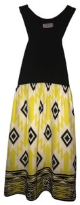 Alice & Trixie short dress Yellow and Black on Tradesy
