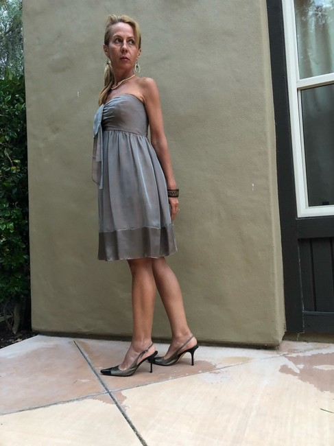 Vera Wang Lavender Label Night Out/Cocktail Short Cocktail Dress Size 4 (S) Vera Wang Lavender Label Night Out/Cocktail Short Cocktail Dress Size 4 (S) Image 3