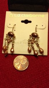 Liz Claiborne French Wire Dangle Earrings