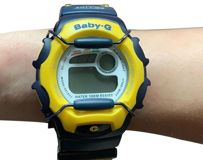 Item - Navy and Yellow Watch
