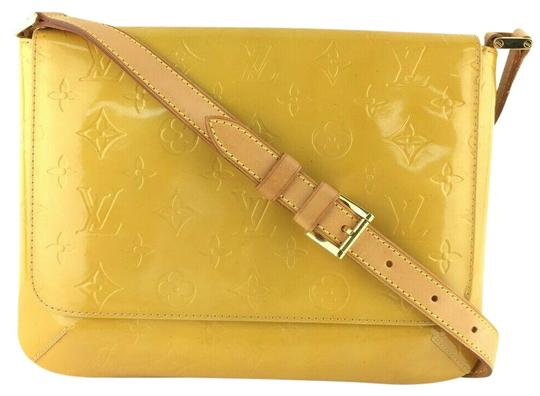 Preload https://item2.tradesy.com/images/louis-vuitton-thompson-street-shoulder-yellow-vernis-leather-cross-body-bag-25662666-0-1.jpg?width=440&height=440