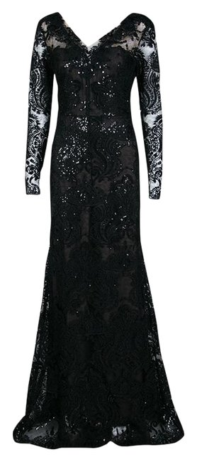 Preload https://img-static.tradesy.com/item/25662704/marchesa-notte-black-floral-applique-detail-embellished-embroidered-tulle-gown-m-long-casual-maxi-dr-0-1-650-650.jpg