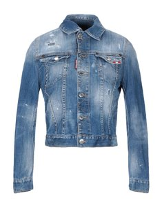 Dsquared2 Italian Designer Blue Denim Womens Jean Jacket