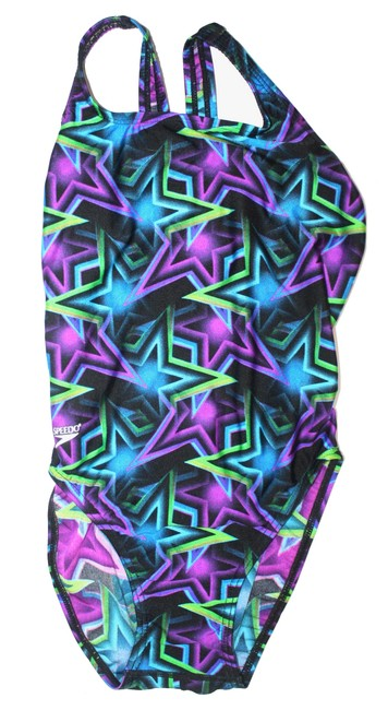 Item - Blue Multi Color New with Tags One-piece Bathing Suit Size 10 (M)