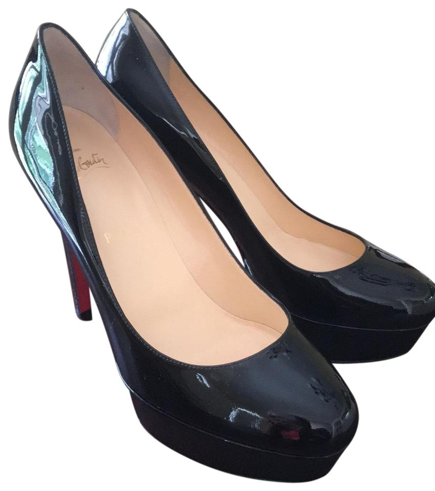finest selection 1f153 a3360 Christian Louboutin Black Bianca 120 Patent Calf Pumps Size EU 39.5  (Approx. US 9.5) Regular (M, B) 41% off retail