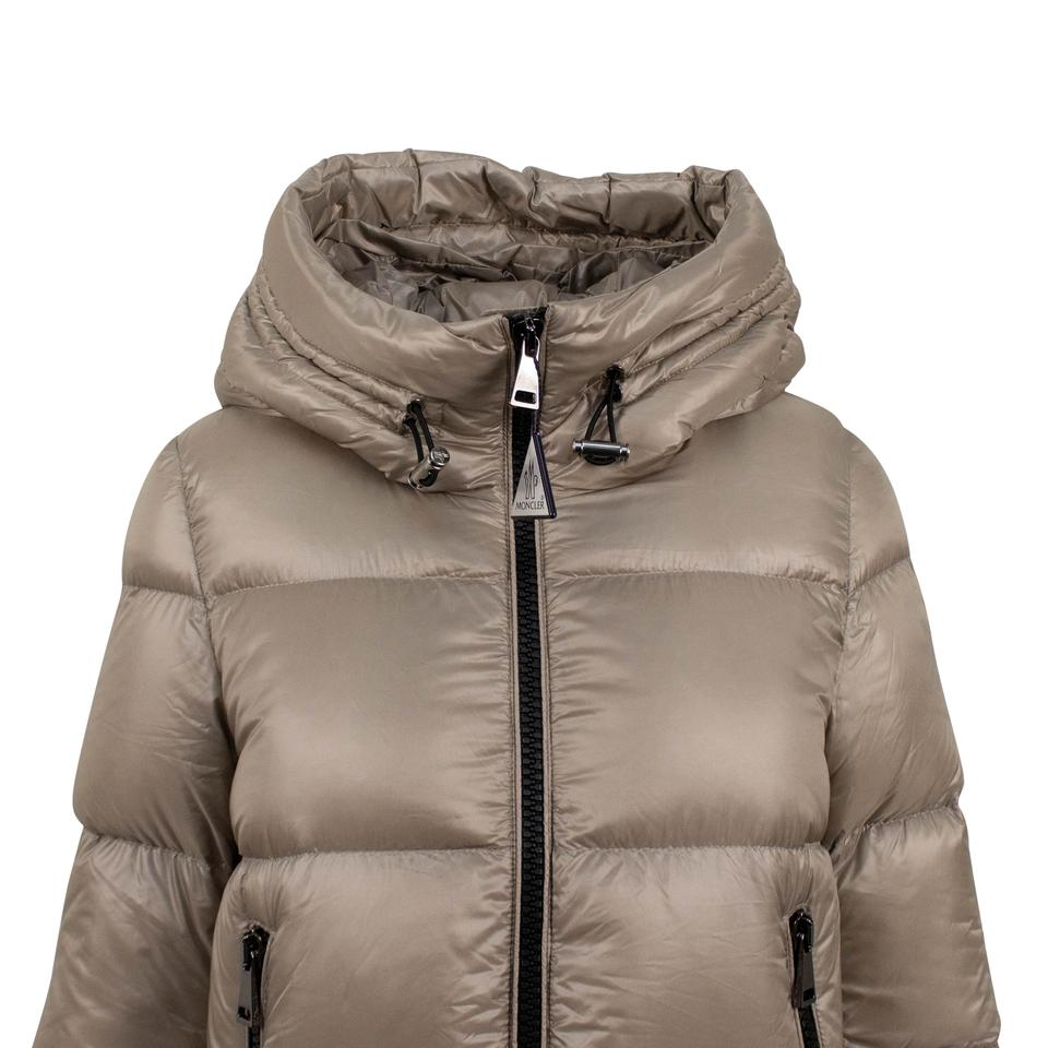 25cc2cfcb Moncler Tan 'seritte' Down Filled Quilted Puffer Coat Size 0 (XS)